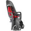 Hamax Zenith Relax Barnesæde til cykel Børn Bagagebærer grå/rød